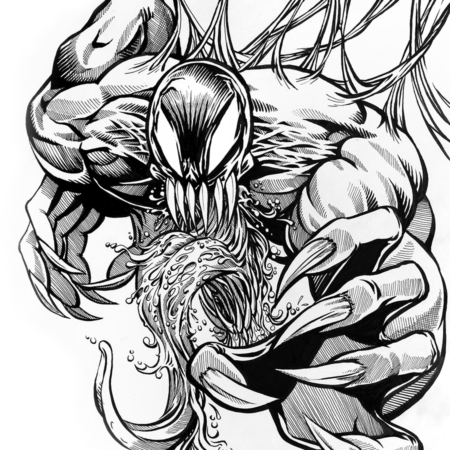 Venom inks (brush)