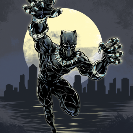 Black Panther color