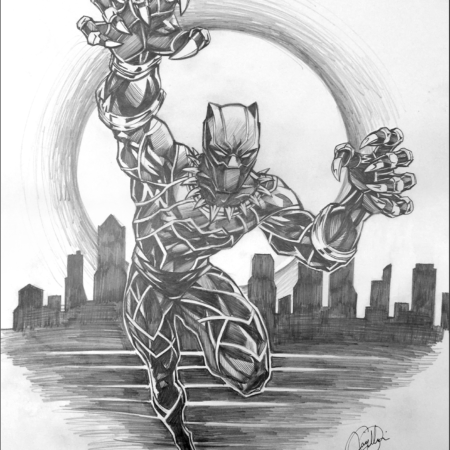 Black Panther Pencil