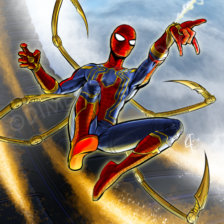 Iron Spider 17A suit
